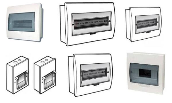 Vỏ tủ điện năng lượng mặt trời chống nước