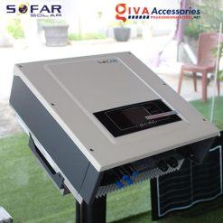 bộ inverter năng lượng mặt trời hòa lưới 3.3K~12KTL-X